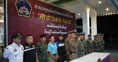 ตำรวจอยุธยาบูรณาการกวาดล้างจับกุมแรงงานต่างด้าว 189 คน ผลักดันส่งกลับประเทศ