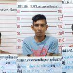 ชุดสืบสวนจังหวัดอยุธยาจับกุมผู้ค้ารายย่อยทั้งหนุ่มน้อยหนุ่มใหญ่