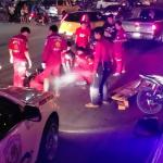 วงจรปิดบันทึกภาพเหตุการณ์หญิงสาวเดินข้ามถนนถูกรถยนต์เฉี่ยวชนทับร่างเสียชีวิต